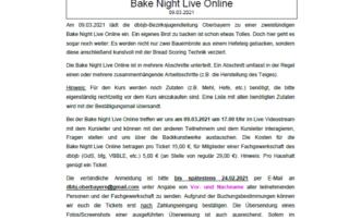Bake Night Live Online